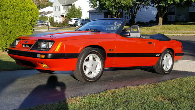 1986 ford mustang gt 5 0 convertible 5 speed manual. Black Bedroom Furniture Sets. Home Design Ideas