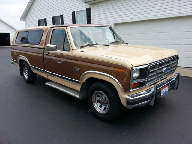 1986 Ford Pickup  F150  Xlt  Lariat  Low Mileage  No Rust