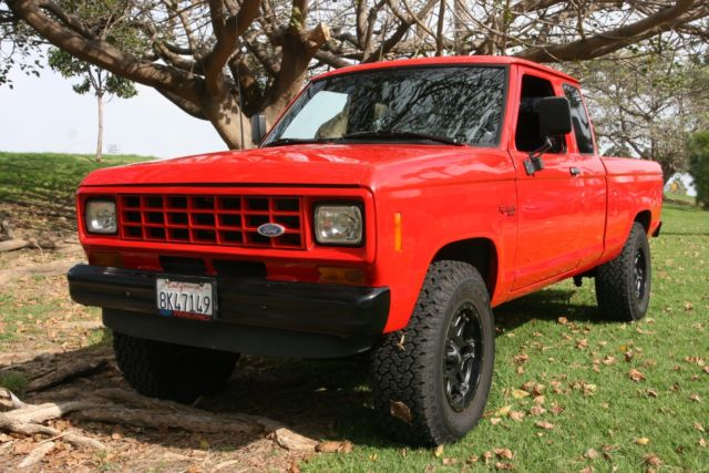 1986 Ford Ranger Truck Extra Cab Lifted New Everything