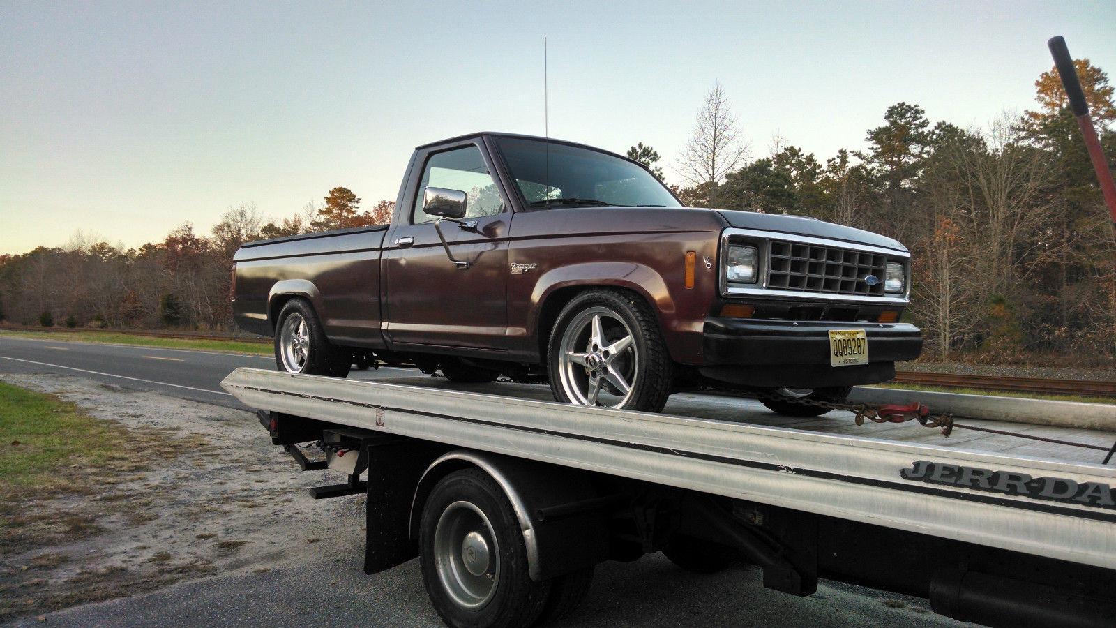 1986 ford ranger v8 331 stroker with 6 speed