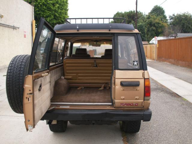1986 Isuzu Trooper Rare Manual Turbo Diesel 4x4 Low Miles Barnyard Find