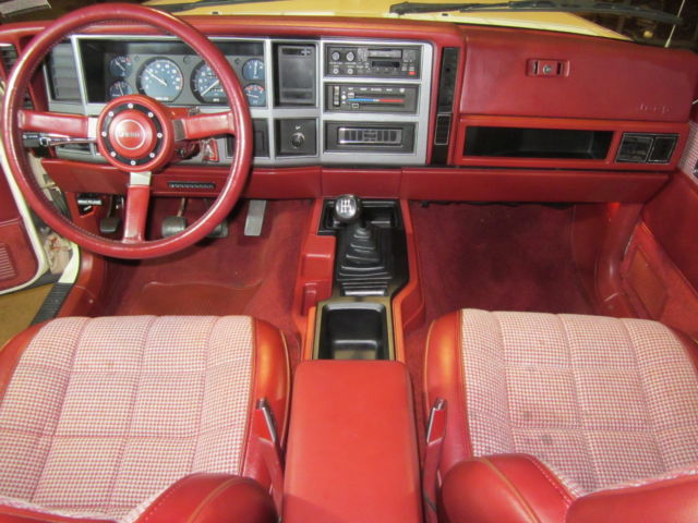 1986 Jeep Comanche Xls 28l V6 Rwd Long Bed With Liner And Cap All