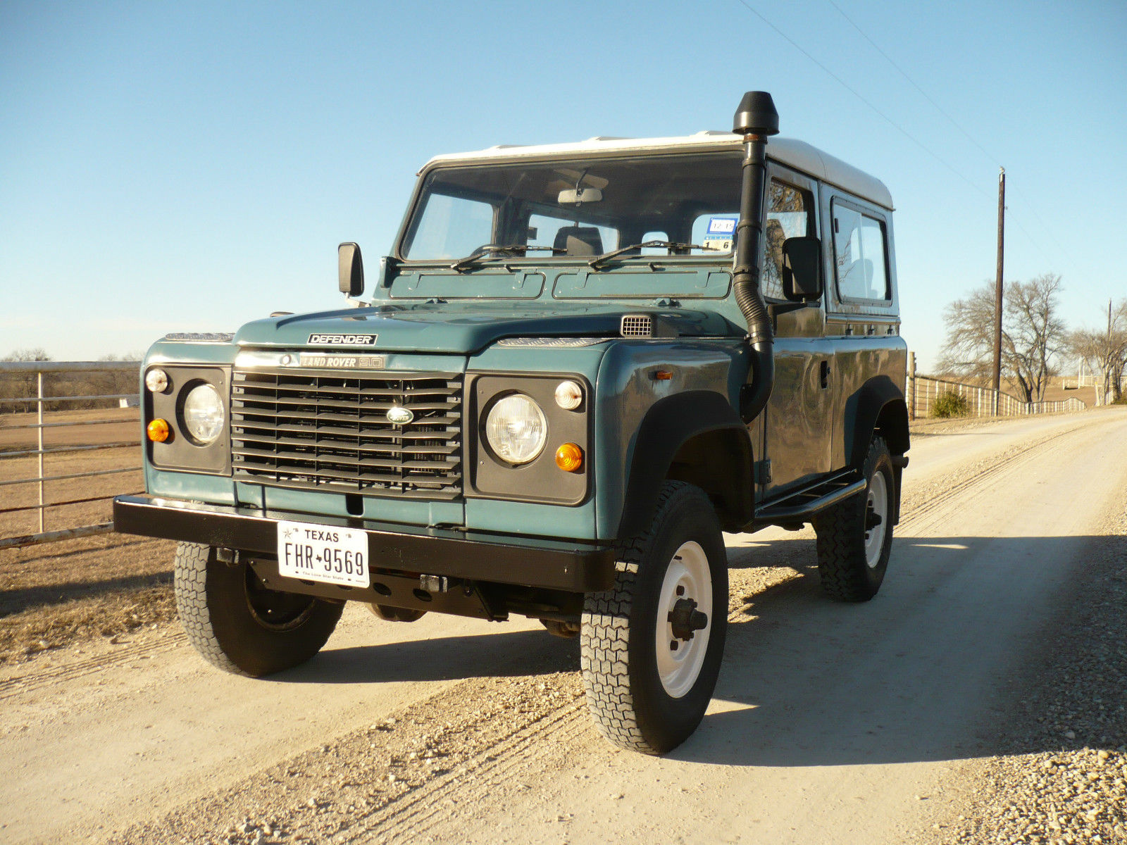 1986 land rover defender 90 200tdi for sale in van alstyne. Black Bedroom Furniture Sets. Home Design Ideas
