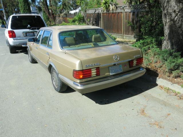 1986 mercedes 300sdl for Mercedes benz cupertino