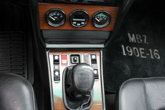 mercedes benz 190e manual