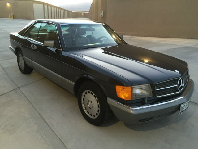 1986 mercedes benz 560sec base coupe 2 door 5 6l 560 sec for 1986 mercedes benz 560 sec