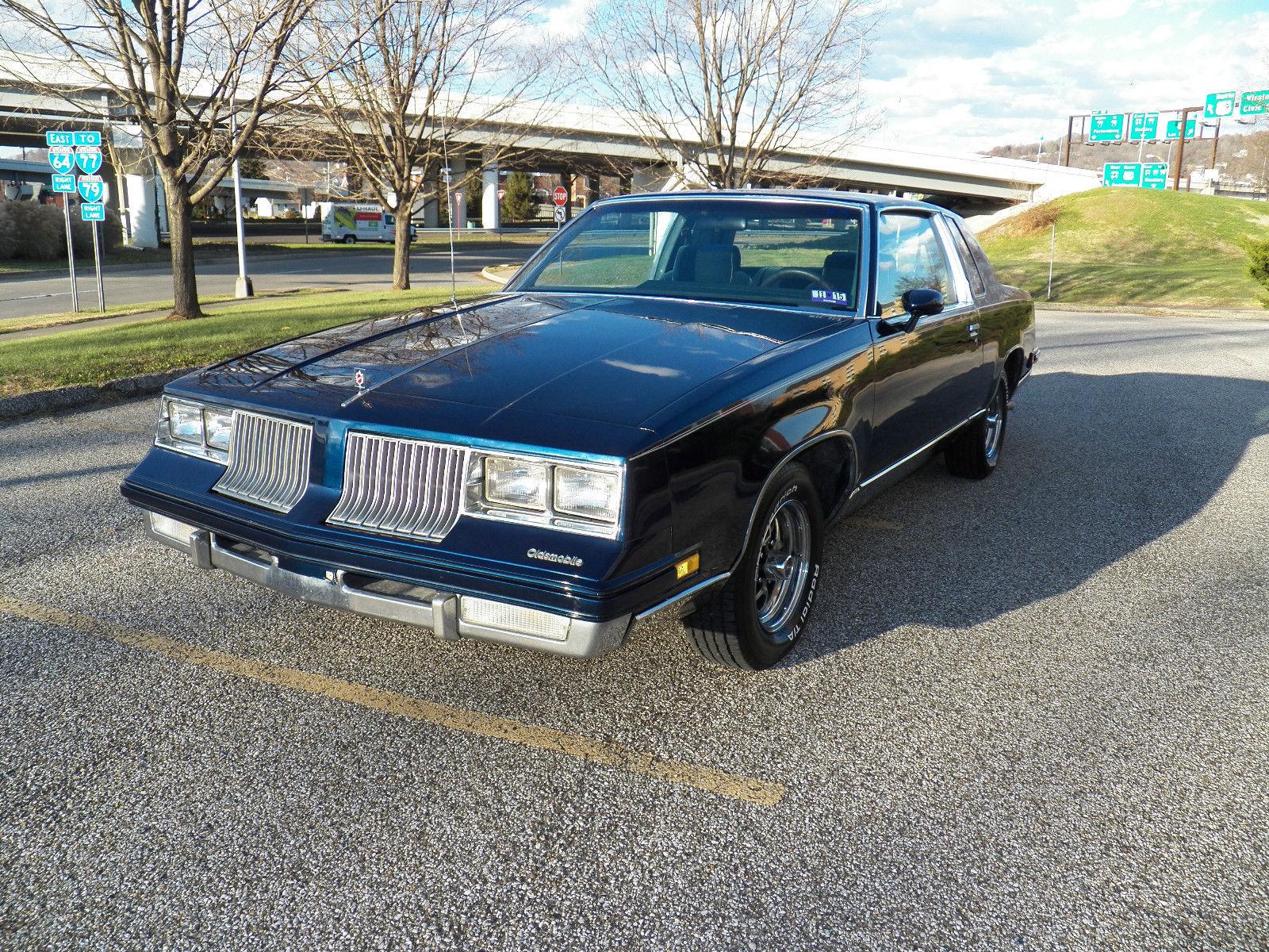 1986 oldsmobile cutlass salon coupe 2 door 5 0l for 1986 cutlass salon for sale