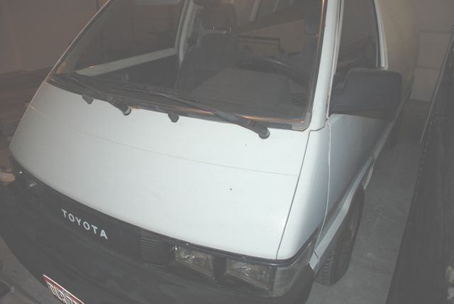 1986 Toyota Cargo Van And 2nd 1987 Toyota Cargo Van Wagon For Parts