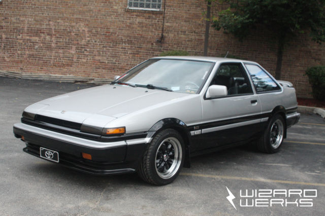 How Much To Rebuild A Transmission >> 1986 Toyota Corolla GT-S AE86 Coupe Kouki