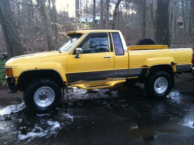 Four Wheel Drive Taxi : Toyota pickup sr turbo extended cab wheel drive