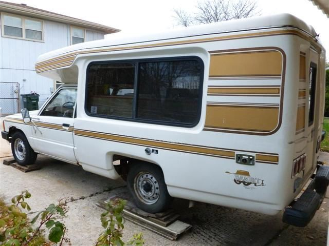 Auto Rv Buy And Sell Used Cars Trucks Rvs And More: 1986 Toyota Truck Bandit Poptop RV Camper