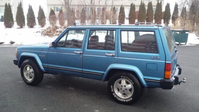 1987 Amc Jeep Cherokee Laredo Xj 4 0 Auto Made Assembled In The U S A