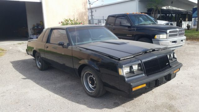 Buick Grand National Barn Find >> 1987 Buick Grand National Barn Find 1 Owner Florida Car