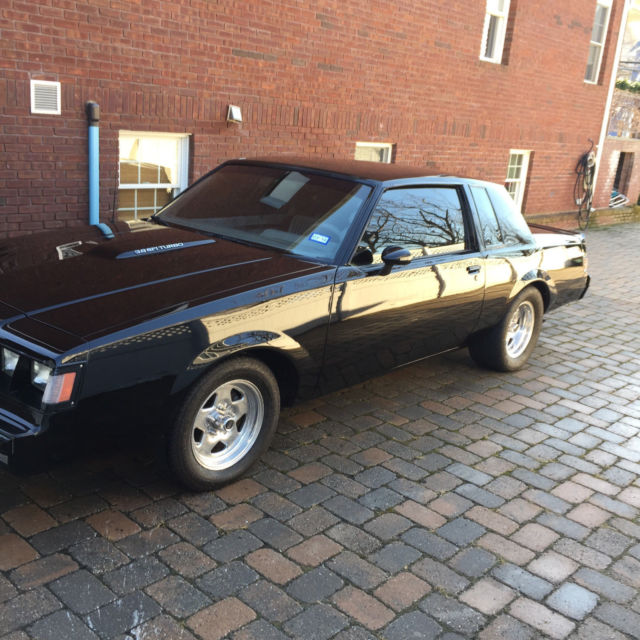 Buick Vehicles List: 1987 Buick Grand National , Turbo T , Limited Turbo