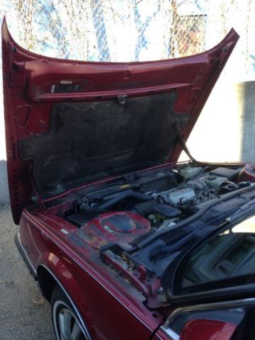 Buick Lesabre Limited Coupe Red Door Rare Survivor Antique Car on 1987 Buick Lesabre 2 Door