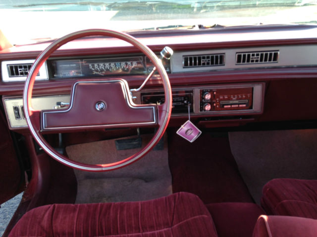 Buick Lesabre Limited Coupe Red Door Rare Survivor Antique Car on 1987 Buick Lesabre Limited Coupe