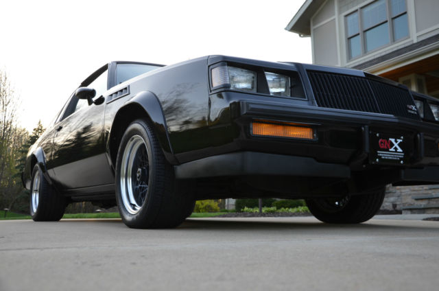 1987 buick regal grand national gnx lowest mile gnx country only 10 5 miles. Black Bedroom Furniture Sets. Home Design Ideas