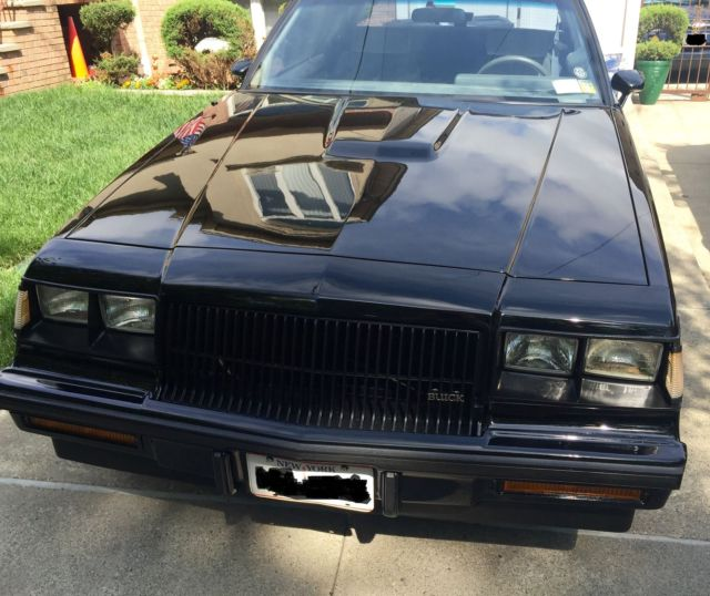 Buick Vehicles List: 1987 Buick Regal Turbo T WE4 Documented 60k Miles 1 Of