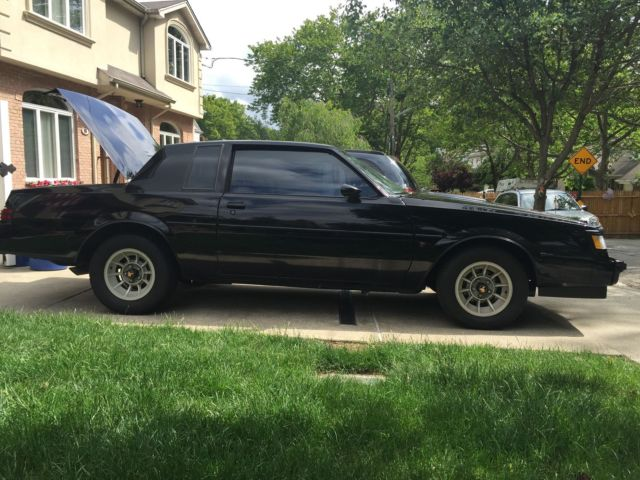 1987 buick regal turbo t we4 documented 60k miles 1 of 1547 made. Black Bedroom Furniture Sets. Home Design Ideas
