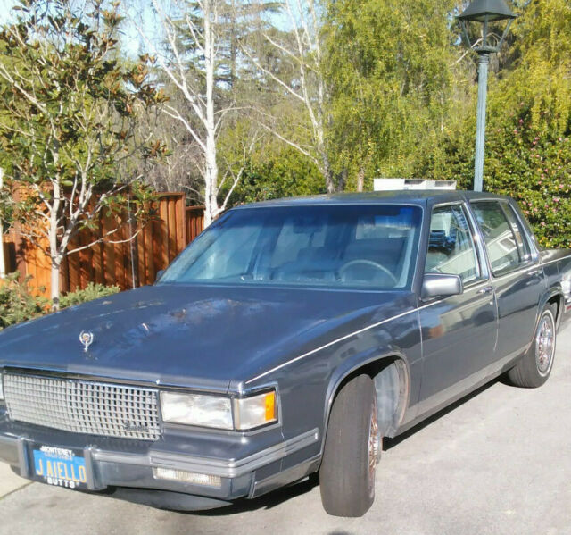 1987 Cadillac Sedan De Ville V8 Engine Rear Wheel Drive
