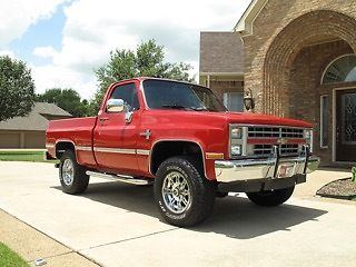 1987 chevorlet silverado 4x4 factory new turn key zz5. Black Bedroom Furniture Sets. Home Design Ideas