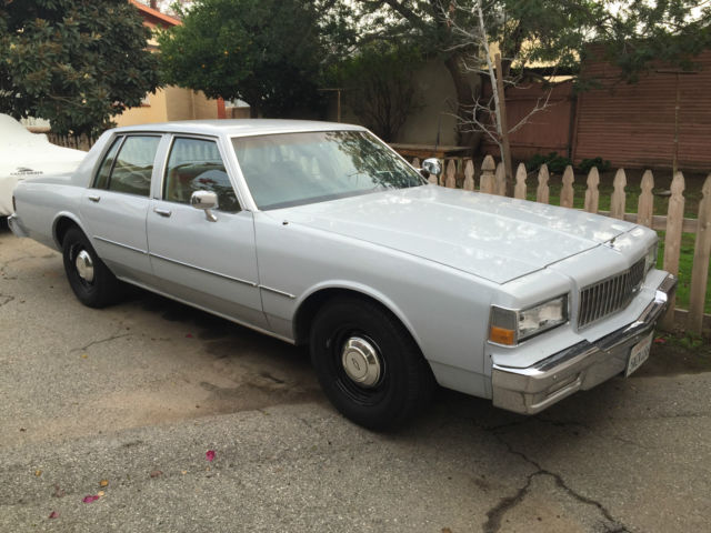 1987 Chevrolet Caprice 9C1 police