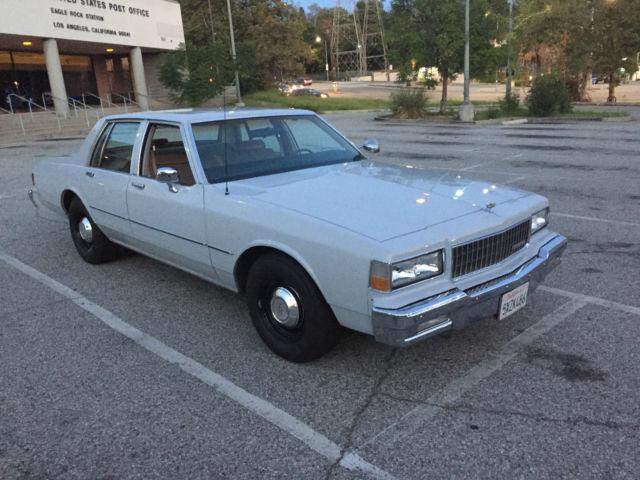 Retired Police Cars For Sale >> 1987 Chevrolet Caprice 9C1 police