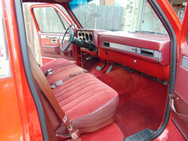 1987 Chevrolet Pickup 1 2 Ton Chevy Truck Square Body