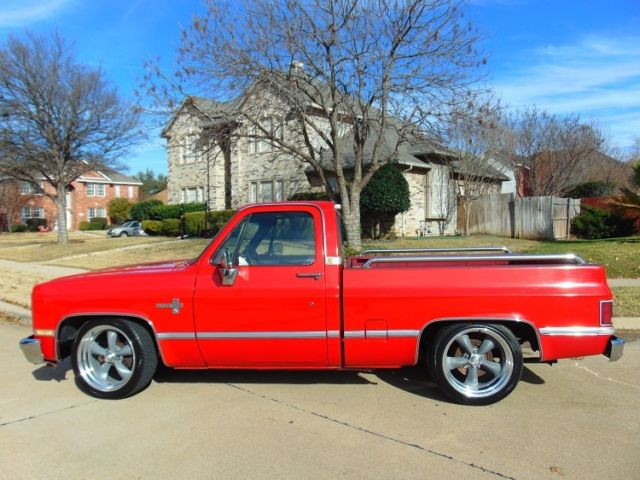 1987 chevrolet pickup 1 2 ton chevy truck square body. Black Bedroom Furniture Sets. Home Design Ideas