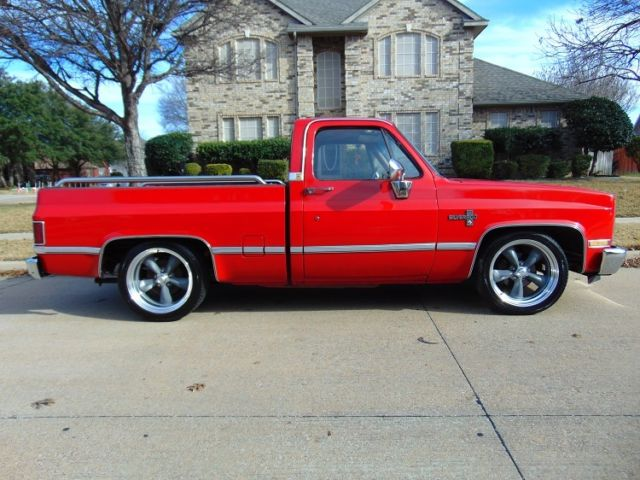 Lowered Silverado For Sale >> 1987 Chevrolet Pickup 1/2 Ton Chevy Truck Square Body Lowered C-10 Silverado