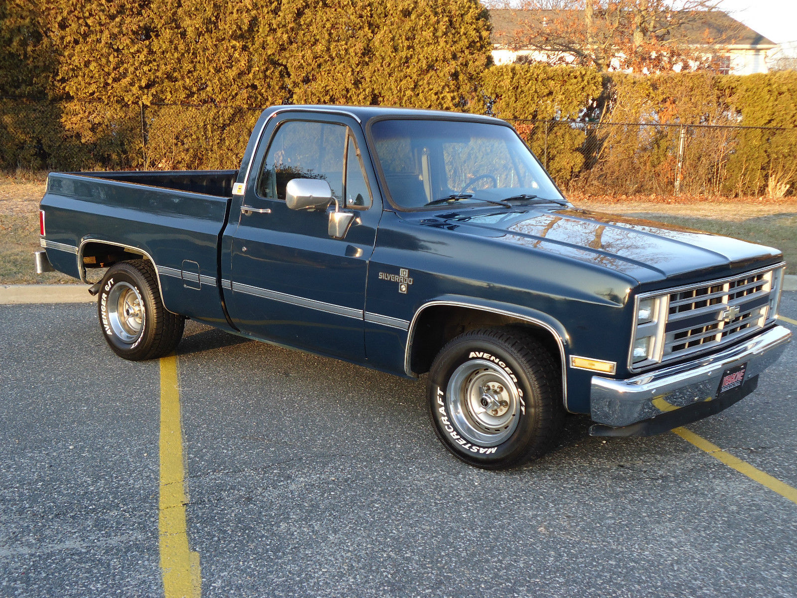 1987 Chevrolet Silverado C10 Super Clean New Paint No Rust Or Rot