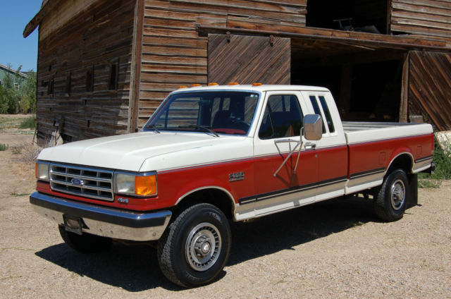 1987 Ford F250 >> 1987 Ford F 250 Xlt Supercab 4x4 Original Survivor One Owner