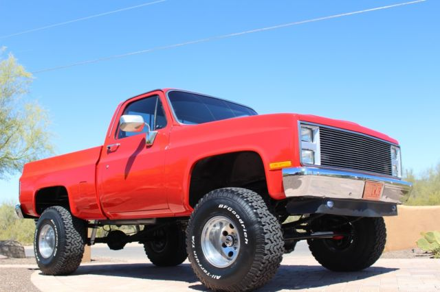 1987 GMC 4x4 k15 or chevy k10 short bed restored lifted ...
