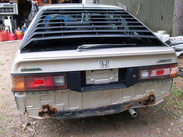 1987 Honda Accord Lxi 3 Door Hatchback