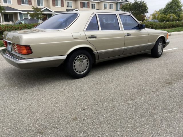 1987 mercedes benz 420sel 2nd owner since new all books for Mercedes benz service a checklist