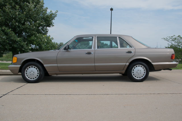 1987 Mercedesbenz 560sel Rare Desert Taupe Color Palamino Leatherrhclassicvehicleslist: 1987 Mercedes 560sel Fuse Box At Gmaili.net