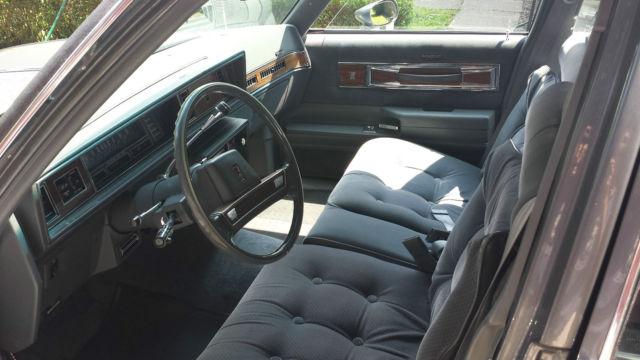 1987 Oldsmobile Cutlass Supreme Brougham Sedan 4 Door 5 0l