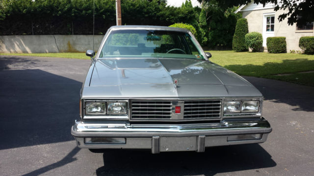1987 Oldsmobile Cutlass Supreme Brougham Sedan 4 Door 5 0l