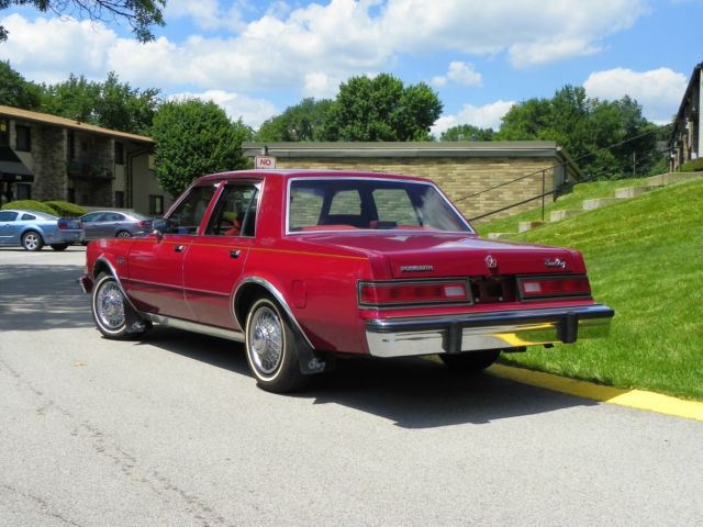 Used Cars Pittsburgh Pa >> 1987 Plymouth Gran Fury Salon LOW MILES (49,300)