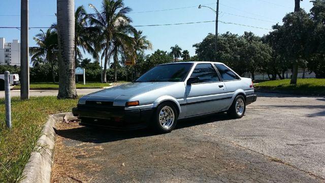 1987 Toyota Corolla Sport Sr5 Coupe 2