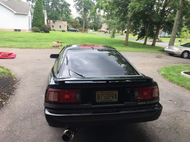 1987 toyota supra that has been restored with a used 1jz single turbo. Black Bedroom Furniture Sets. Home Design Ideas
