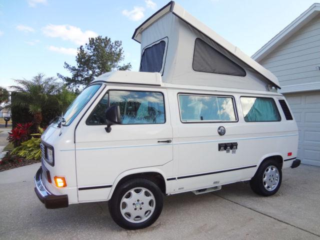 1987 Volkswagen Vanagon Westfalia Camper Van Vw