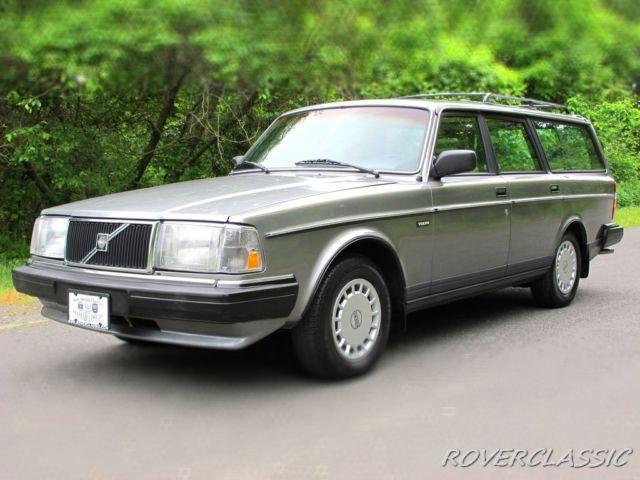 1987 volvo 245 87 623 original miles station wagon. Black Bedroom Furniture Sets. Home Design Ideas