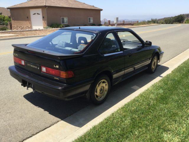 1988 Acura Integra 5 Speed LS Special Edition Hatchback 3 Door 16L