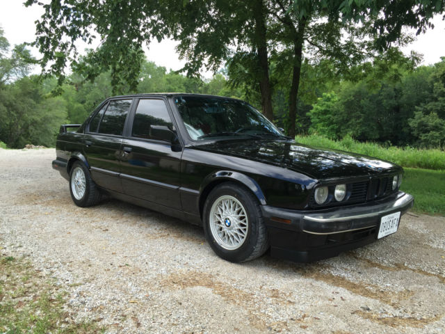 1988 BMW 325i E30 4-Door 6 Cylinder Excellent Condition Many