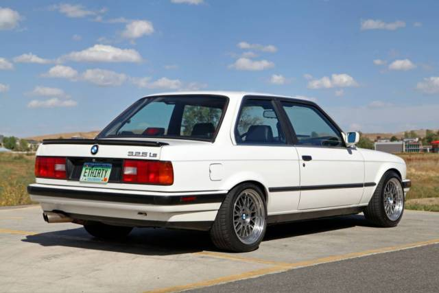 1988 Bmw E30 325is Alpine White Black Leather Plastic