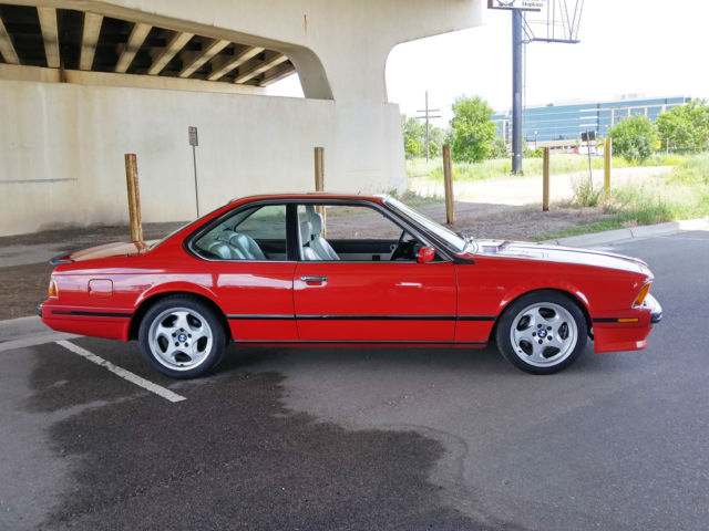 1988 bmw m6 clean carfax rust free all service. Black Bedroom Furniture Sets. Home Design Ideas