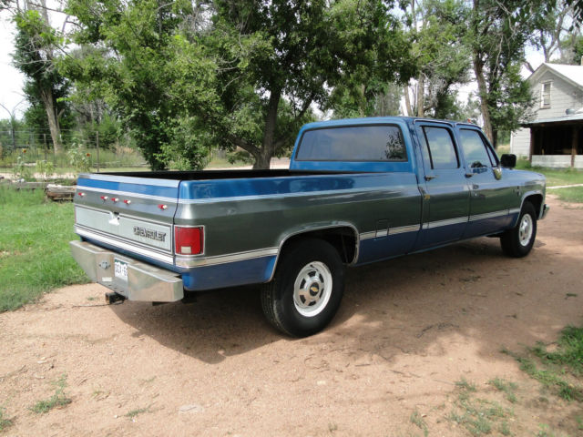 Used Tires Colorado Springs >> 1988 C20 Chevrolet Silverado 3/4 ton truck 3+3 EFI 454 v-8 ...