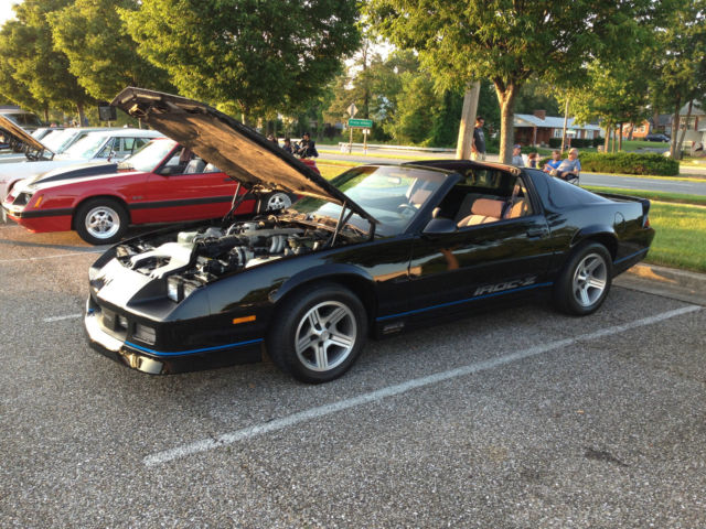 1988 Camaro Iroc Z T Top 2 Door Coupe 305 V8 W Automatic