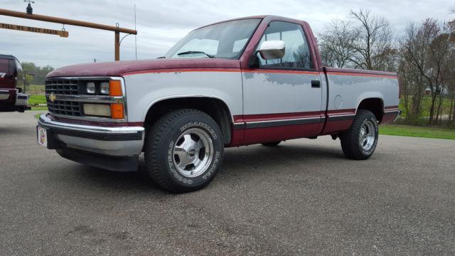 1988 Chevrolet C1500 Silverado Short Bed Short Wheelbase C ...
